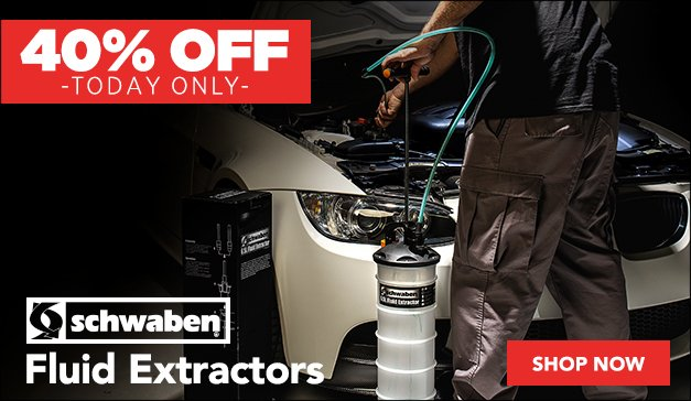 GENERIC - DOORBUSTER - 40% OFF Fluid Extractors