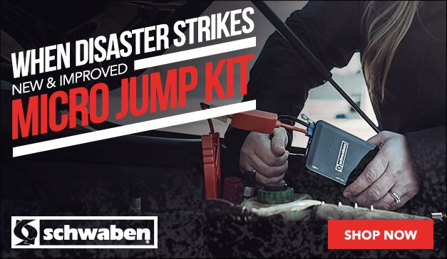 New and Improved - Schwaben Micro Jump Start Kit
