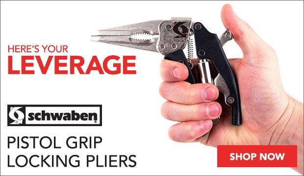 Schwaben Pistol Grip Locking Pliers