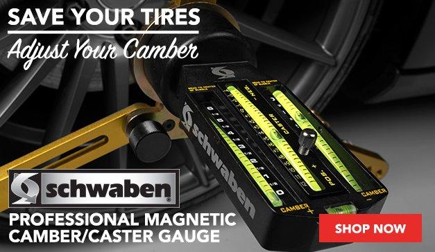 Schwaben Professional Magnetic Camber/Caster Gauge