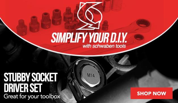 Schwaben Complete Stubby Socket Driver Set