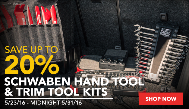 Schwaben European Hand Tool  Trim Tool Kit