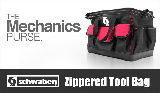 The Schwaben Zippered Tool Bag