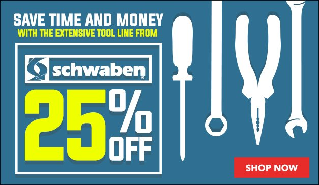 25% OFF - Save time and money with Schwaben!