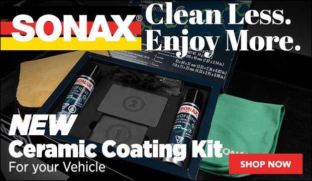 SONAX Ceramic Coating Kit for your Vehicle