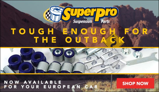 SuperPro Suspension Parts | Available For Your European Car