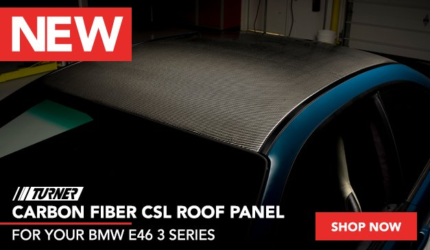 New Product Turner Carbon Fiber Roof