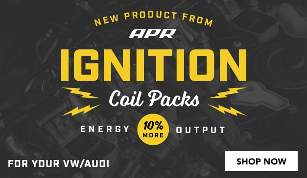 vw/audi - NEW APR Ignition Coil Packs