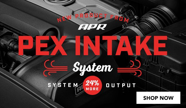 VAG - New APR PEX Intake Systems for PQ35 1.8T and 2.0T