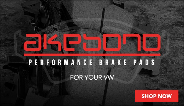 Akebono Brake Pads for your VW
