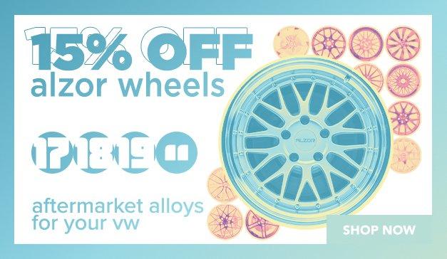 VW - Alzor 15% Off