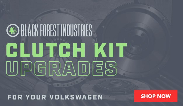 VW - Black Forest Industries Clutch Kit Upgrades For Volkswagen