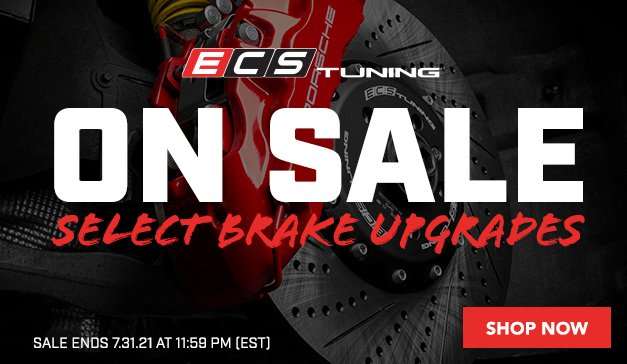 VW - On Sale - Select ECS Brake Upgrades