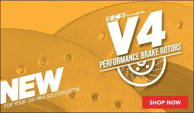 New ECS V4 Rotors for your VW MK4 Golf/GTI/Jetta