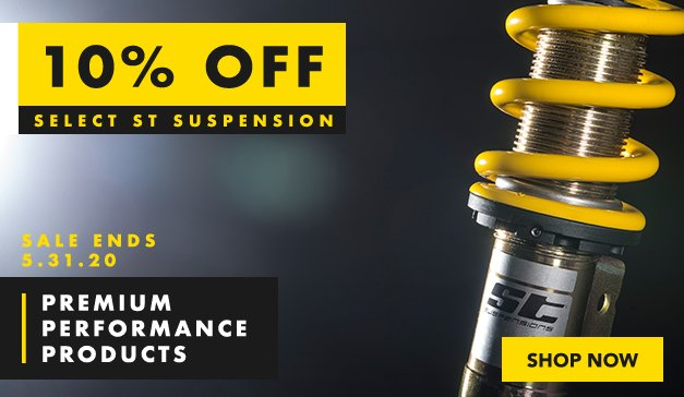 VW - 10% off  Select ST Suspensions