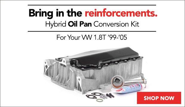 Hybrid Oil Pan Conversion Kits | VW MK4 1.8T
