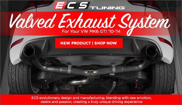 ECS MK6 GTI Valved Exhaust System