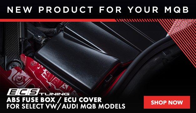 VAG - New ECS MK7 ABS Fuse Box / ECU Cover