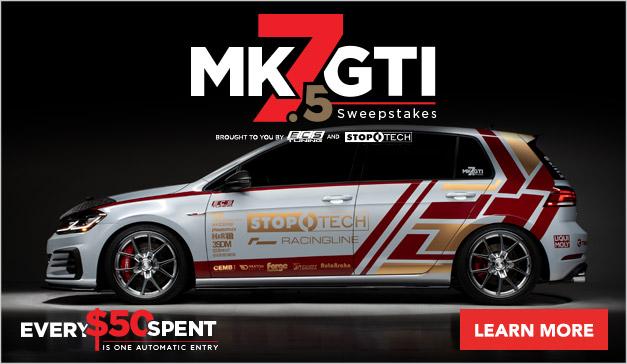 Volkswagen MK7.5 Sweepstakes Unveiling
