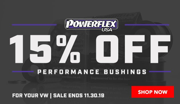 Reduce Chassis Slop - 15% Off Powerflex Performance Bushings