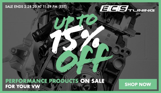 VW - 3 Days Only! Up to 15% Off ECS Top Performance products and more