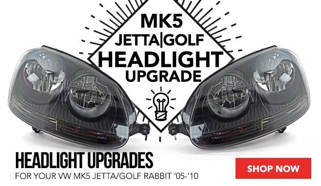 Ziza European Blackout Headlight Set for your MK5