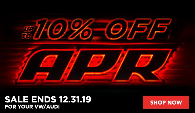 Audi - up to 10% off APR
