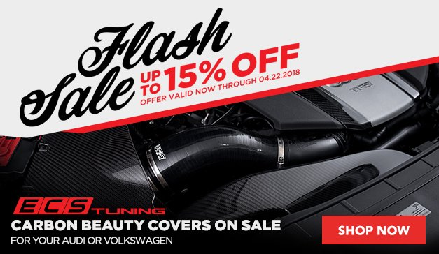 ECS Tuning Carbon Beauty Covers On Sale