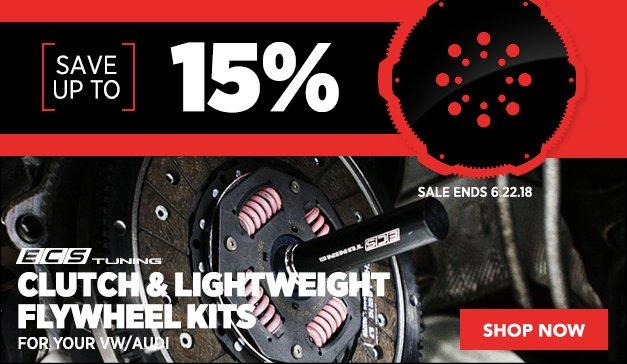 ECS Clutch Kits On Sale! VW/Audi