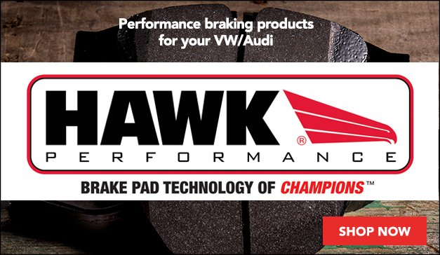 Hawk Performance Braking Solutions for your VW/Audi