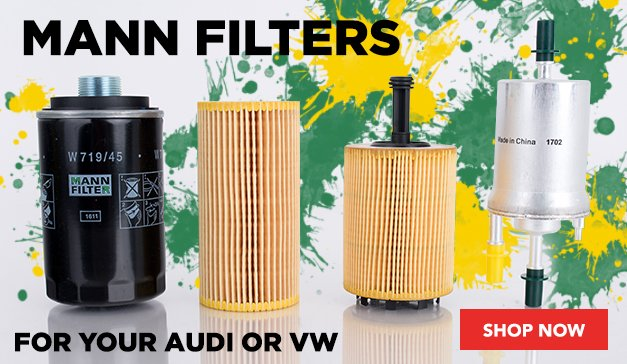 MANN Filters for your Audi or VW