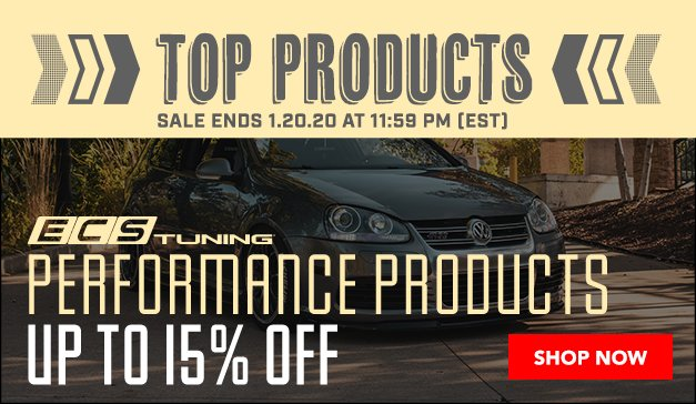 VW - Up to 15% Off Everything ECS Branded