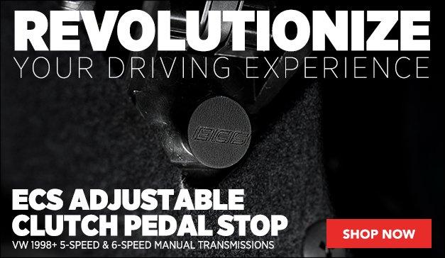 ECS Adjustable Clutch Pedal Stop | VW 5 & 6-Speed Trans
