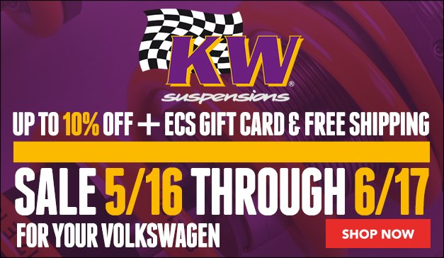 KW Coilover Spring Sale | For Your Volkswagen