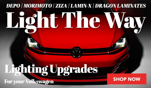 Light The Way - Lighting Upgrades available at ECS - VW