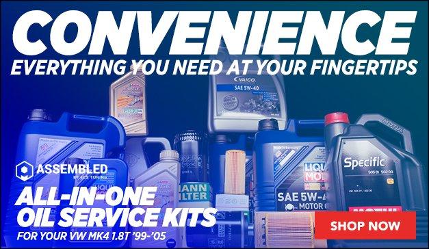 Oil Service Kits | VW MK4 1.8T