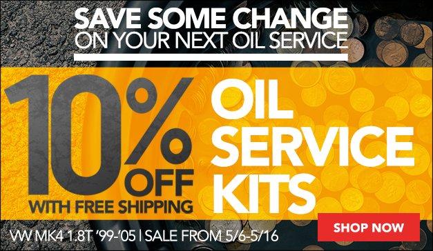 VW MK4 1.8T Oil Service Kits Sale