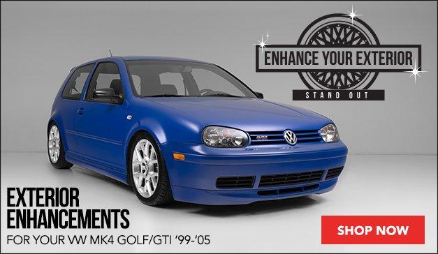 VW MK4 GTI Exterior Enhancements
