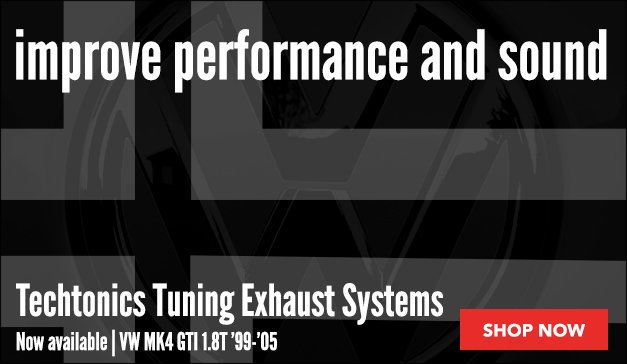 Techtonics Tuning Now Available For your VW MK4 GTI