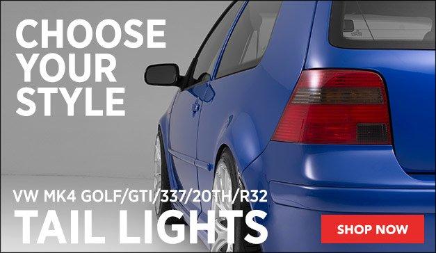 VW MK4 Tail Lights