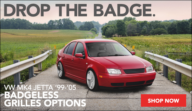 Badgeless Grilles Options - VW MK4 Jetta
