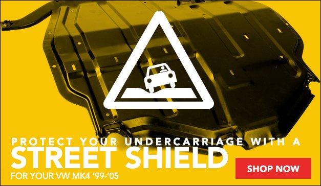 VW MK4 Steel Skid Plate