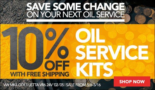 VW MK4 VR6 24V Oil Service Kits Sale