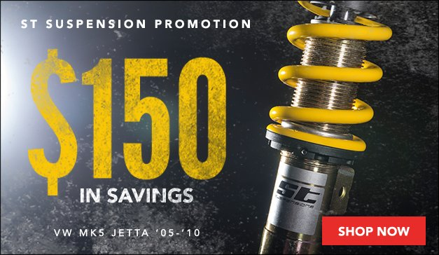 ST Suspensions Rebate Sale VW MK5 Jetta