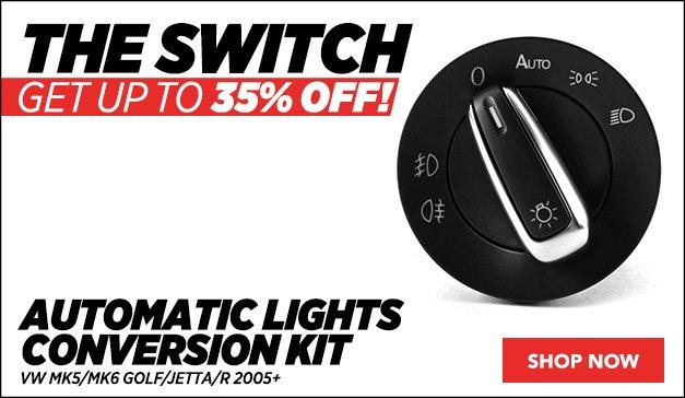 Bremmen Automatic Lights Conversion Kit | VW
