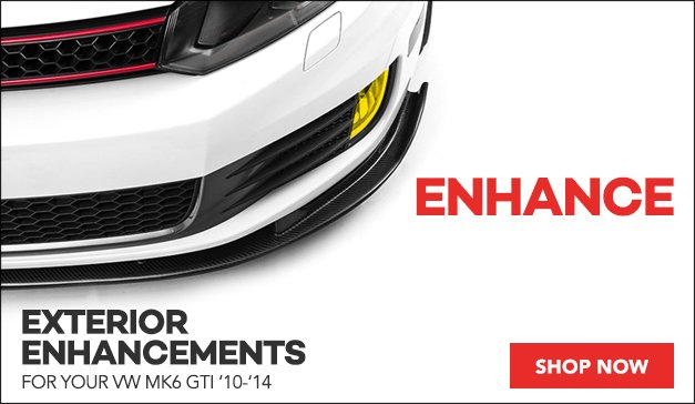 Exterior Enhancements for your VW MK6 GTI