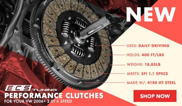New ECS Performance Clutches