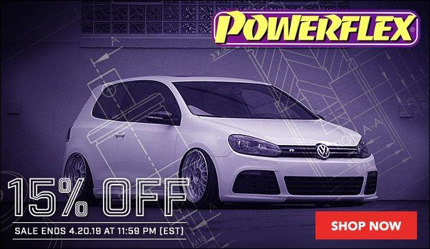 VW - 15% Off Powerflex