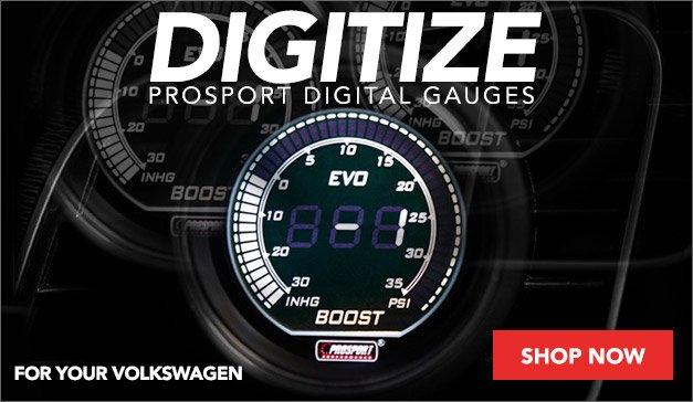 New Prosport Digital Gauges For Your Volkswagen
