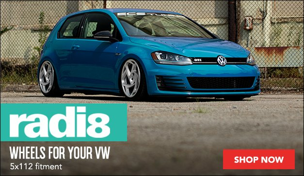 New Wheels for Your VW From Radi8